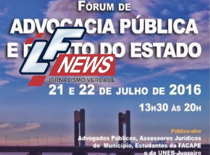 Procuradoria Geral da Bahia realiza I Fórum de Advocacia Pública e Direito do Estado