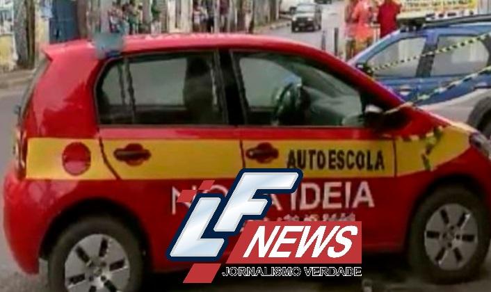 Instrutor de autoescola morre após levar tiro no peito em Lauro de Freitas