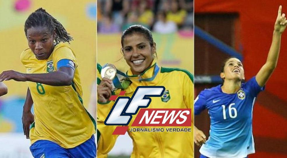 Três baianas são convocadas para defender futebol feminino nas Olimpíadas