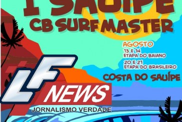 Costa do Sauípe recebe campeonato de Surf Master