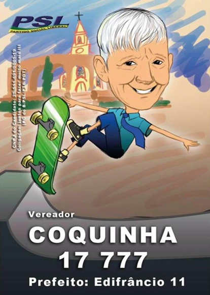 Coquinha lança sua campanha nesta quarta