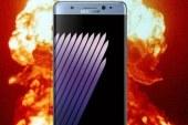 Casos de incêndios forçam a Samsung paralisar a produção do Galaxy Note 7