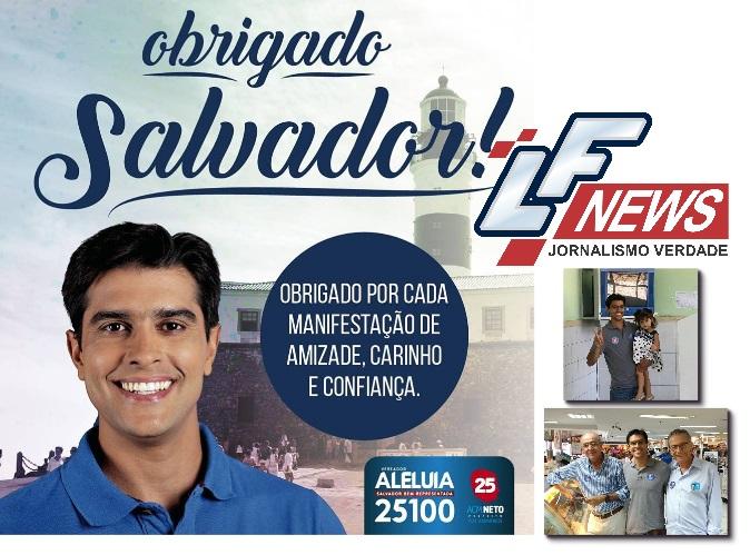 Câmara Municipal de Salvador estará muito bem representada