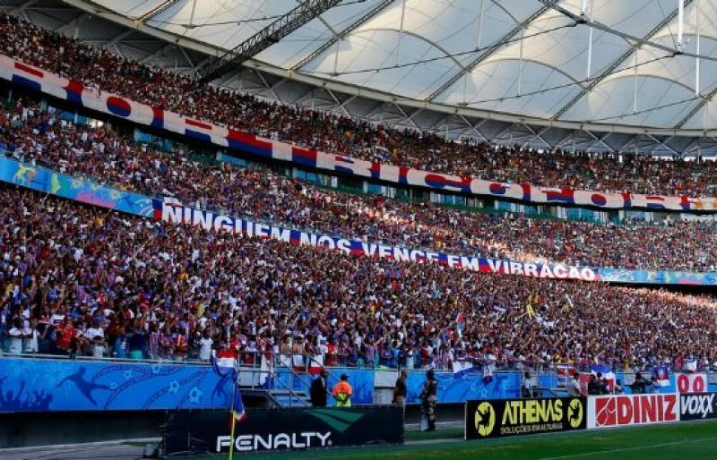 Bahia x Vasco: inicia nessa sexta venda de ingressos nas bilheterias da Arena