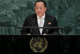 Ameaças de Trump tornam ataque aos EUA inevitável, diz ministro norte-coreano