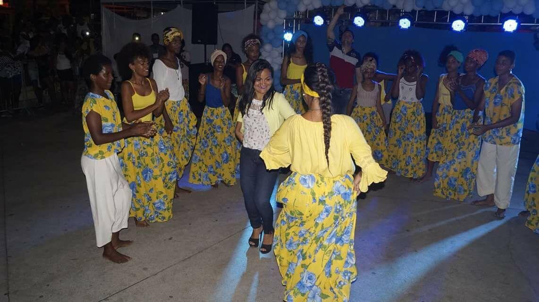 Vereadora Débora Regis e a Cia de Dança Ritmos e Cores Brasil promoveram grande evento cultural em Itinga