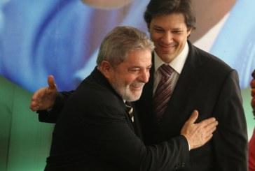 PT estuda Haddad como vice de Lula