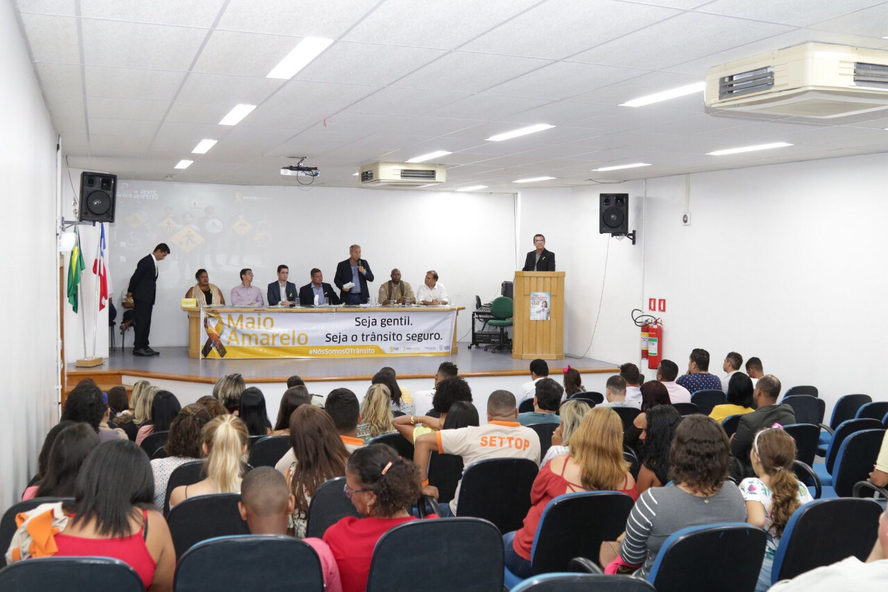 Valorização da vida é foco do Maio Amarelo em Lauro de Freitas