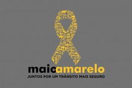 Campanha do Maio Amarelo alerta para 37 mil mortes no trânsito do país