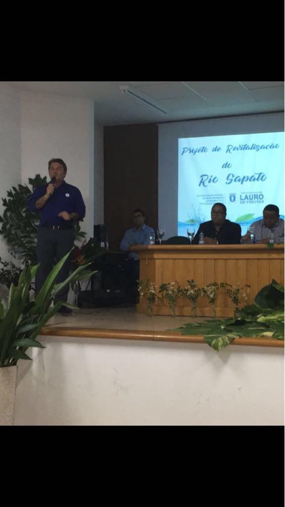 Seplan participa de evento em prol da despoluição do Rio Sapato