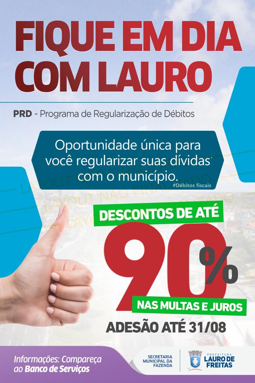 6377f76db0c Prefeitura concede oportunidade única para você regularizar suas dívidas com