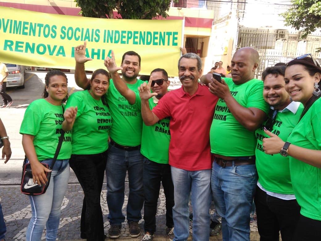 Carlos Martins amplia base política em Salvador e recebe apoio total da Frente Popular Renova Bahia