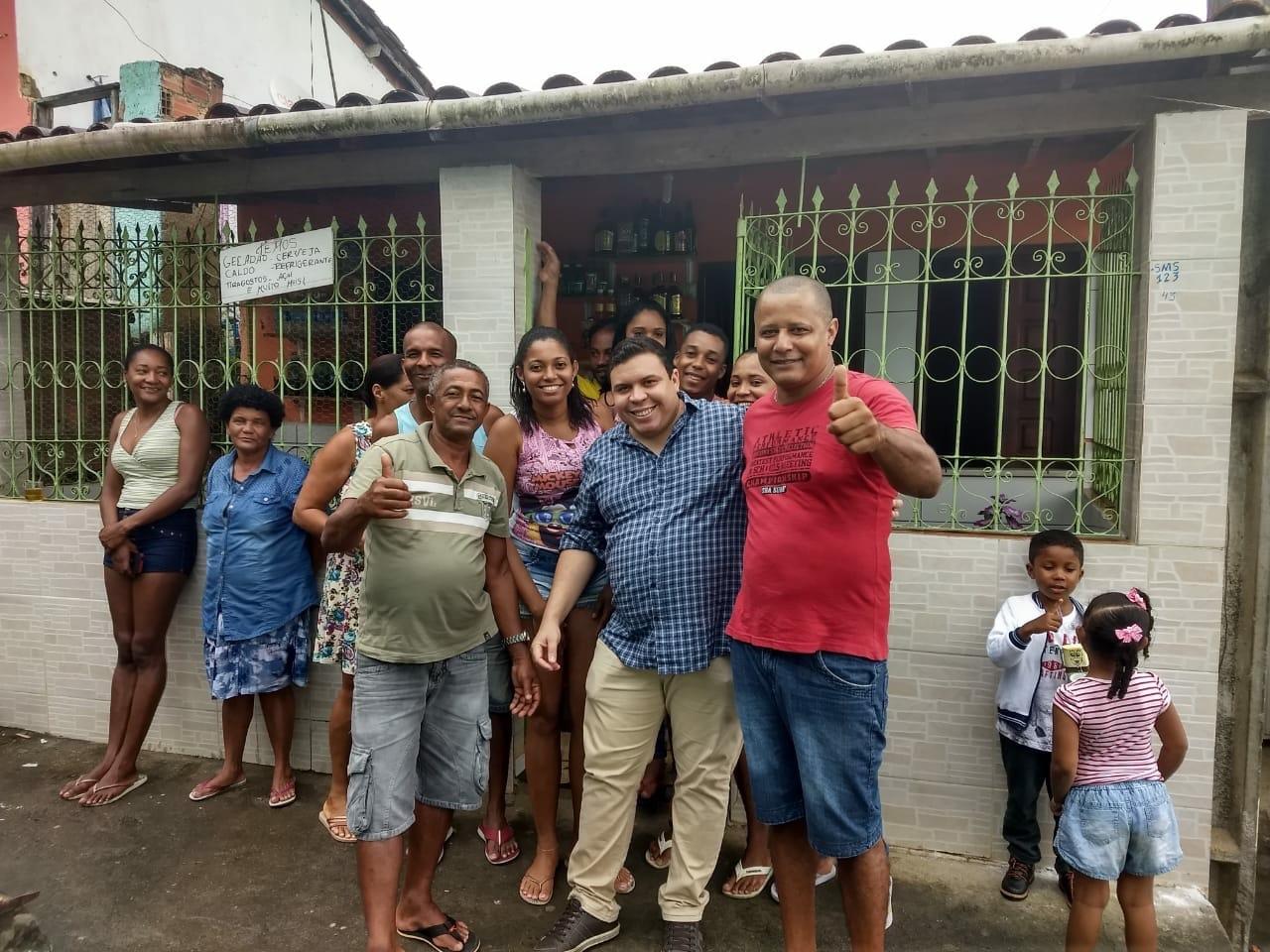 Vereador Isaac de Belchior visita comunidades do interior