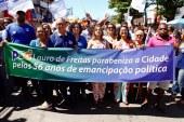 PSD de Mirela mostra força no desfile de emancipação de Lauro de Freitas