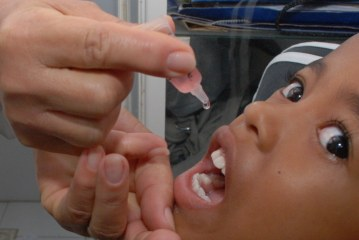 """Campanha contra pólio e sarampo tem Dia """"D"""" neste sábado"""