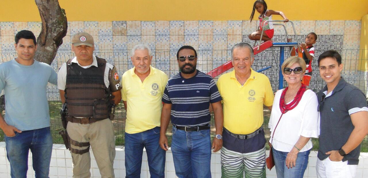 Associação Comercial prestigia inauguração das novas instalações da Escola Creche Rotary em Quingoma