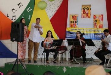 Camerata da Orquestra Sinfônica da Bahia encanta estudantes de Lauro de Freitas