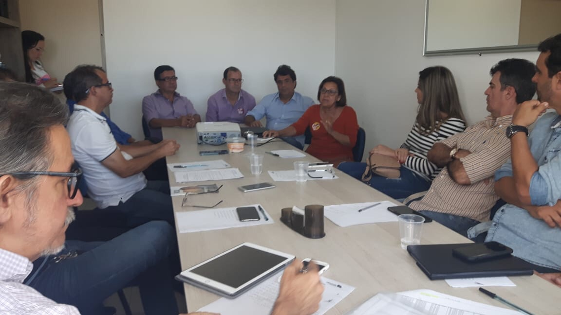 Mauro Cardim participou de reunião com empresários que também apoiam o deputado Ângelo Almeida
