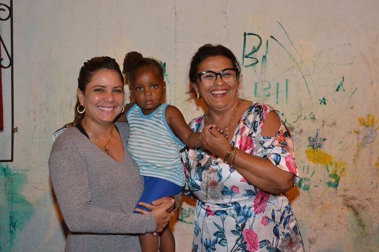 Mirela e Mirian reúnem-se com as comunidades do Jardim Cidade Nova e Jardim Metrópole