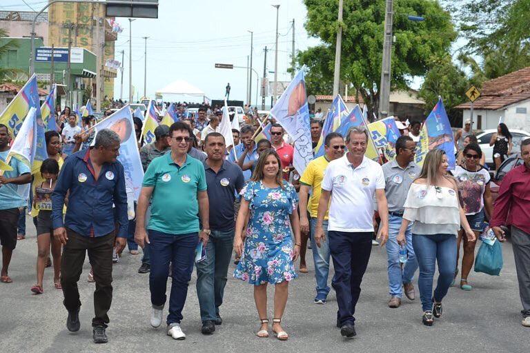 Deputada Mirela segue forte no Extremo Sul da Bahia