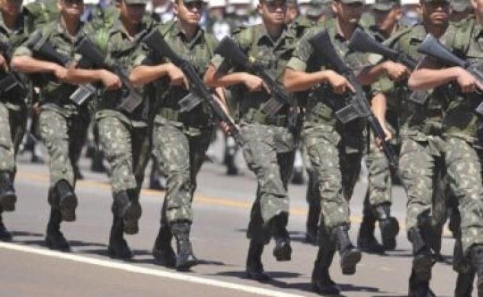 Forças Armadas foram solicitadas por 9 estados para manter segurança da eleição