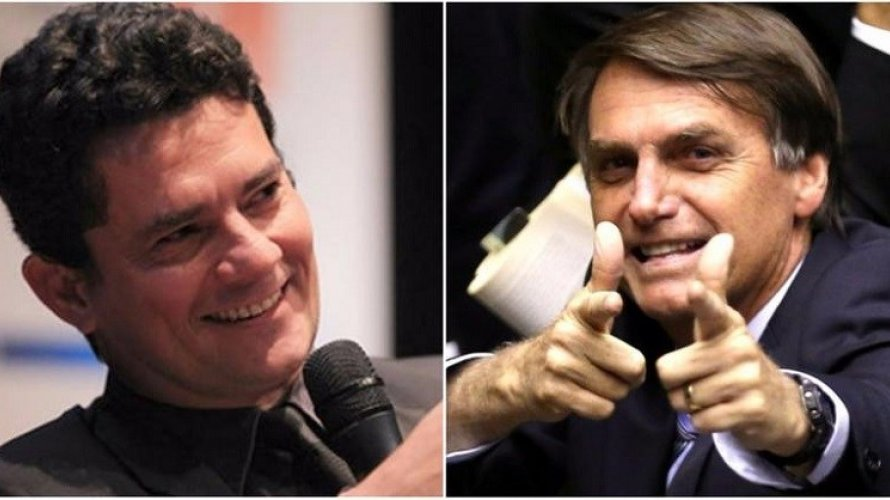 Moro e Bolsonaro devem se encontrar amanhã