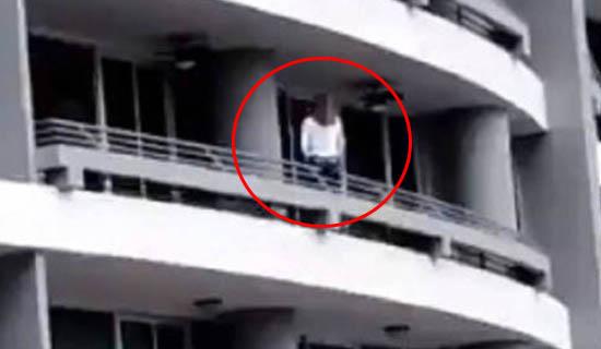 Vídeo: Mulher cai do 27º andar de um prédio ao tentar tirar selfie