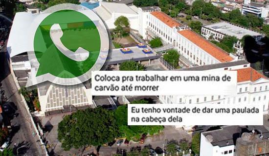 """Vazam conversas de WhatsApp de alunos do Antônio Vieira: """"Deveria criar o Ministério da Tortura"""""""