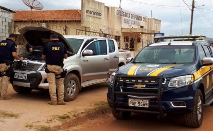 PRF recupera 127 veículos durante operação na Bahia e no Maranhão