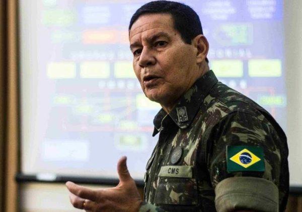 'Temer terá de vetar', diz Mourão sobre reajuste do STF