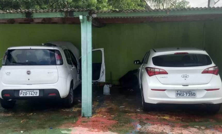 Central de clonagem de veículos é descoberta em Lauro de Freitas