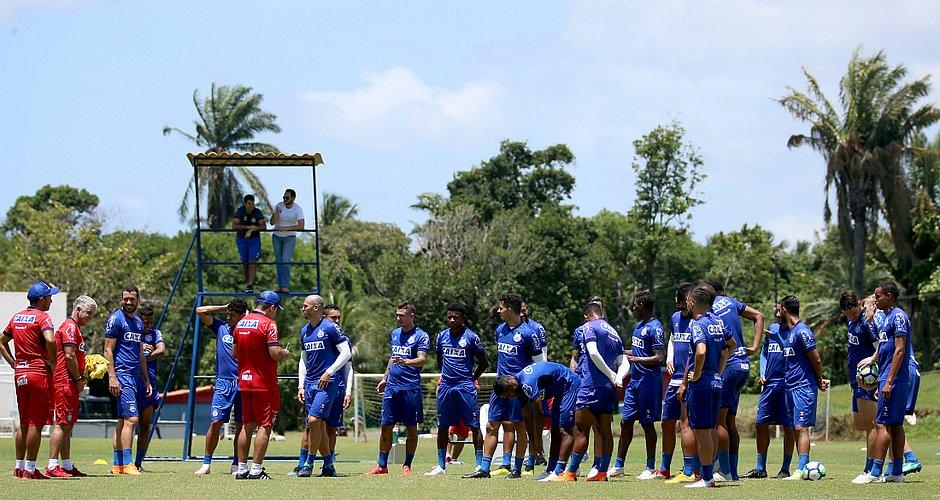 Sem Gilberto, Bahia está pronto para enfrentar a Chapecoense