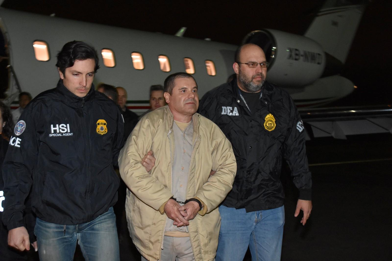 'El Chapo', de traficante mais procurado do mundo a troféu dos EUA atrás das grades; será julgado a partir de hoje