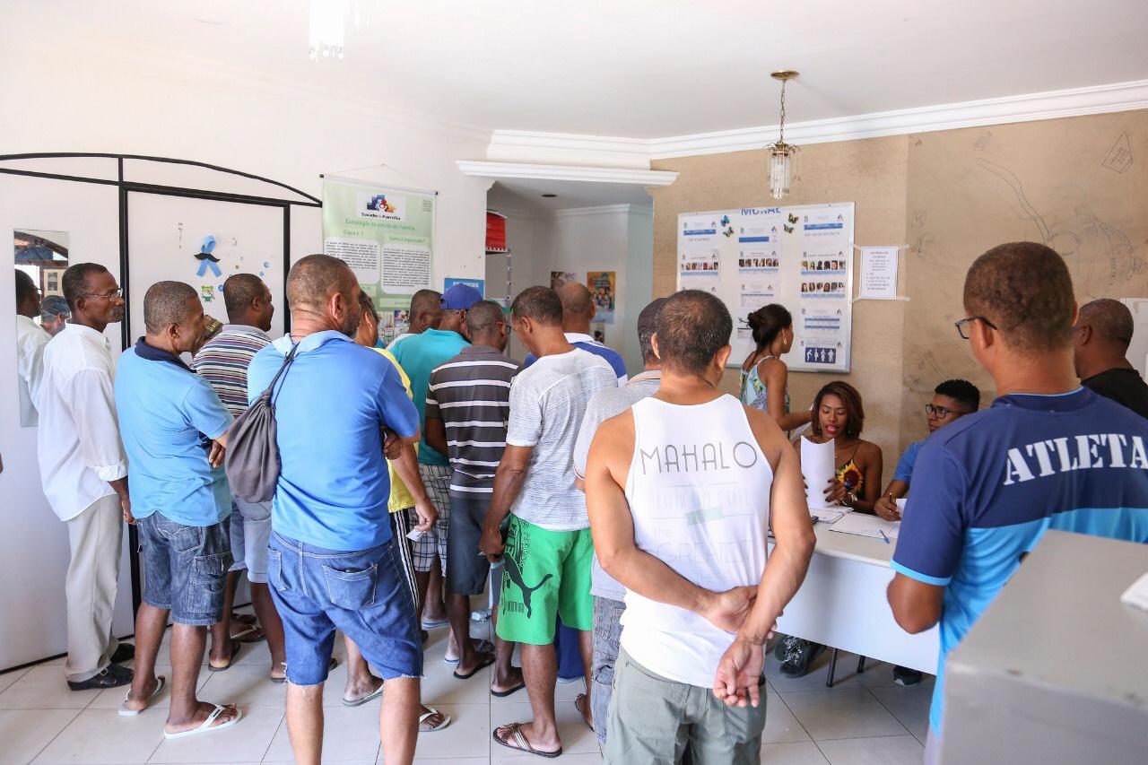 Ações de prevenção e cuidado com a saúde do homem são reforçadas em Lauro de Freitas