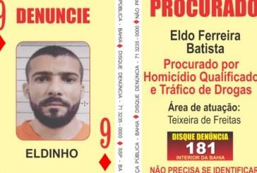 Traficante e homicida do 'Baralho do Crime' baiano é preso em Vitória, no Espírito Santo