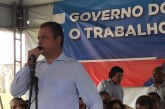 Rui entrega contenção de encosta em Vila Canária nesta quarta, (19)