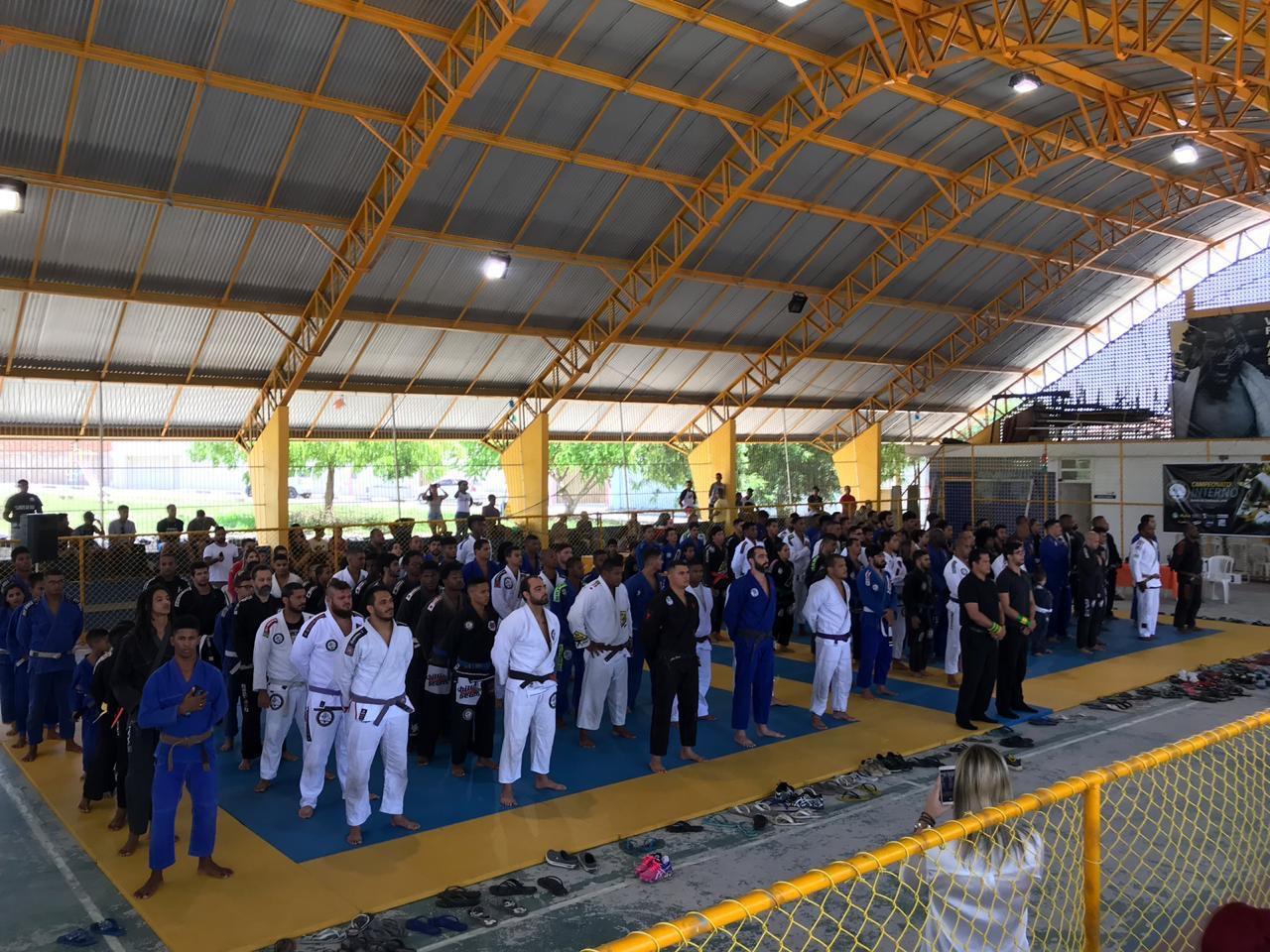 Torneio de Jiu-Jitsu marca final de semana em Lauro de Freitas