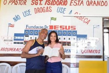 Secretária Huldaci visita Fundação Doutor Jesus