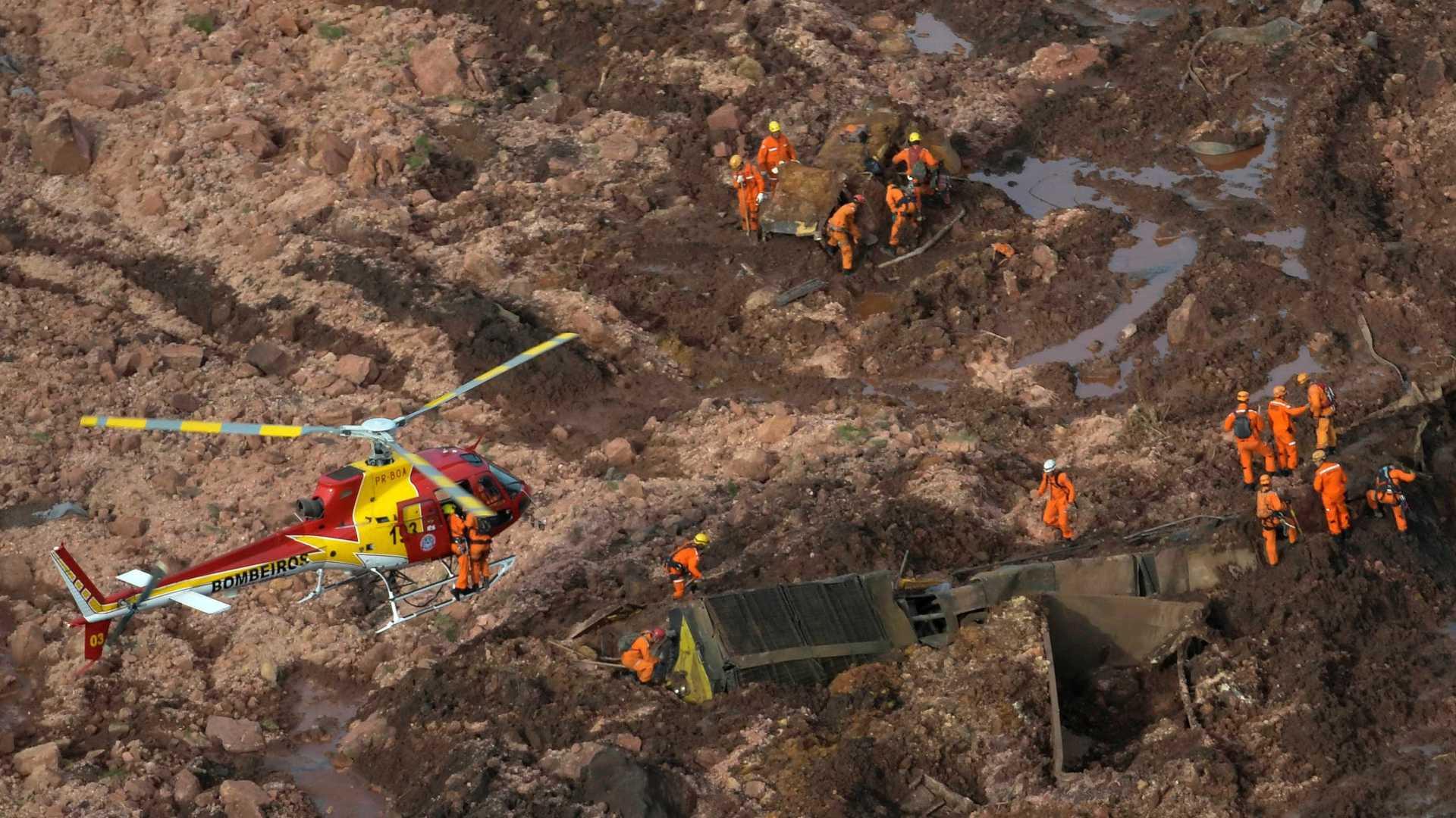 Sobe para 60 número de mortos em Brumadinho; há 292 desaparecidos