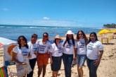 Prefeitura vai as praias com o projeto Ler é Minha Praia, por meio da SEMDESC em parceria com a Superintendência do SUAS