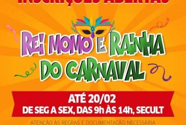 Inscrições para concurso do Rei e Rainha do Carnaval de Lauro de Freitas vão até dia 20