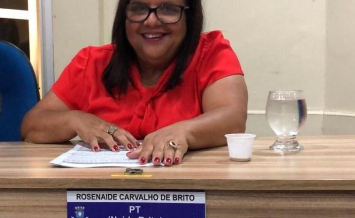 Vereadora Naide Brito afirma que não procede, ela como secretária de educação