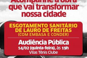 Prefeitura apresenta balanço das obras de esgotamento sanitário em execução no município