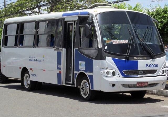 Nova linha da Translauf em pleno funcionamento e atendendo aos usuários do transporte público de Lauro de Freitas