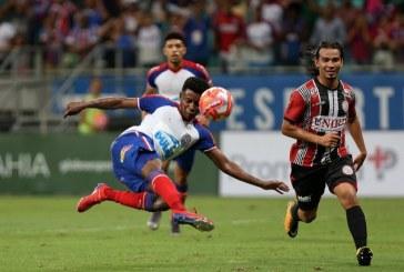 Atlético de Alagoinhas e Bahia se enfrentam em jogo de volta da semifinal do Campeonato Baiano