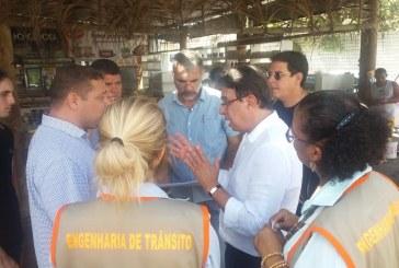 SETTOP e Parque Shopping começam a traçar estratégias para melhoria do sistema viário de Lauro de Freitas