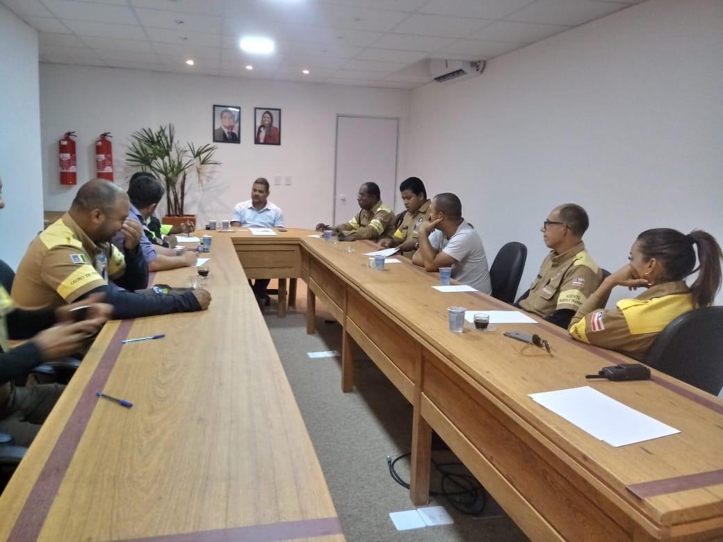 Gestão eficaz! Secretário da SETTOP reúne-se com Sindicato Metropolitano dos Agentes de Trânsito e Transporte