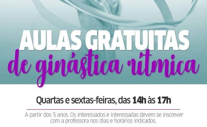Prefeitura abre vagas para iniciação esportiva de Ginástica Rítmica