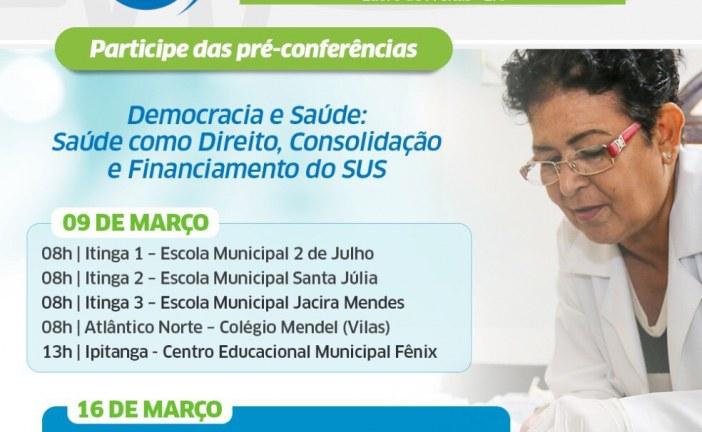 Lauro de Freitas promove pré-conferências de Saúde neste sábado (9)