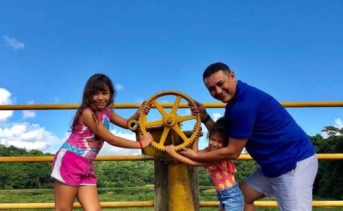 Alexandre Marques visitou neste domingo a barragem Joanes I
